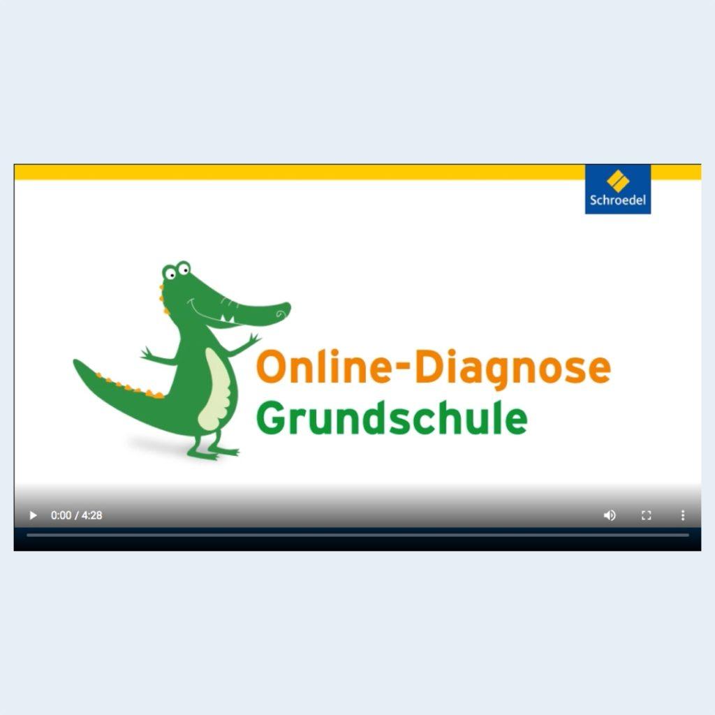 Online-Diagnose Grundschule Symbolbild