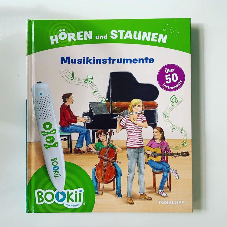 Buch BOOKii Hören und Staunen Musikinstrumente